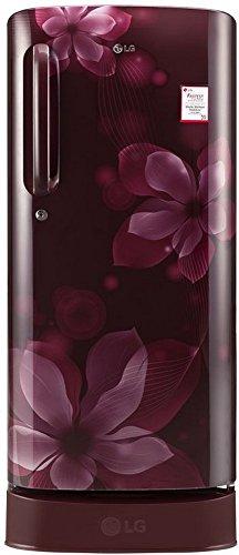 LG GL-D201ASOX 190L 4S Single Door Refrigerator (Orchid)