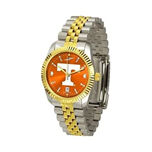 Tennessee Volunteers Vols UT Mens Stainless Steel Alumni Dress Watch by SunTime