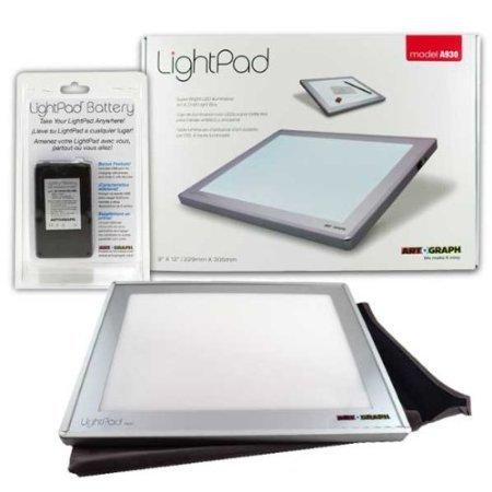 Artograph Led Lightpad 9X12 A930 W Batt Pack