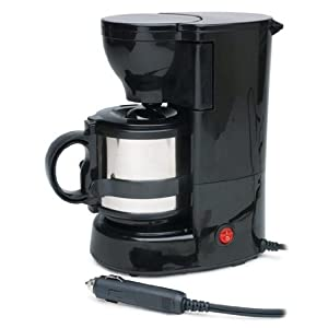 Amazon.com: 12 Volt Coffee Maker Mobile Portable 12v Coffee Mug Brewer (Includes Mounting ...