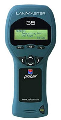 Psiber Data LM35 LanMaster 35 Power and Link Tester