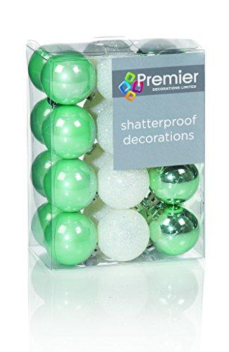1-confezione-da-24-30-millimetri-multi-finish-verde-chiaro-e-bianco-palline-decorazioni-dellalbero-d