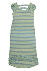 Kate Mack Girl's 7-16 Cirque De Soleil Maxi Dress in Aqua