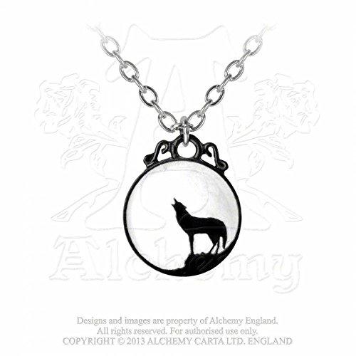 GothicJewels - Collana Alchemy Il Lupo solitario