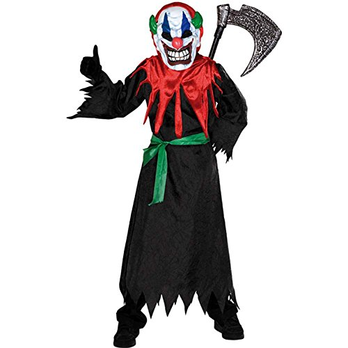 Crazy Clown Kids Costume