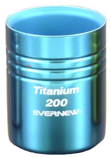 エバニュー チタン二重カップ200 ブルー 700 EBY283