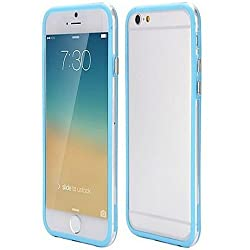 Casotec Backless Bumper Case Cover for Apple iPhone 6 Plus / 6S Plus - Sky Blue