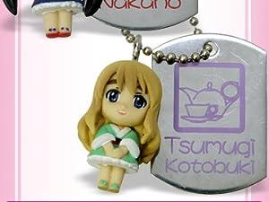 K-On! Little Mascot Dog Tag Schlüsselanhänger: Tsumugi Kotobuki (Kleid)