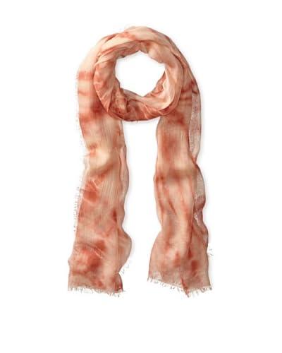 Carolina Amato Women's Tie Dye Wrap, Blush