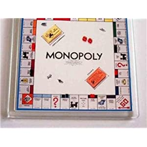 Monopoly Game Board Coaster!