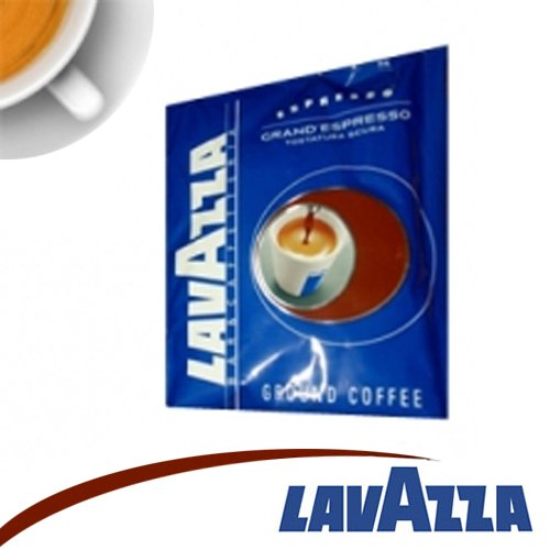 200 CIALDE CAFFE' LAVAZZA GRAND ESPRESSO TOSTATURA SCURA FILTRO IN CARTA 44MM