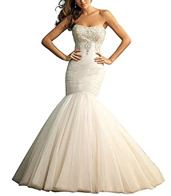 new elegant lace wedding dresses dress for women sale 5009 20 white