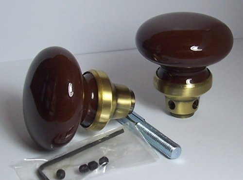 The Finest BRONZE PORCELAIN CERAMIC & ANTIQUE BRASS Replacement Passage Knobs to upgrade Antique Knobs or Other Replicas. Guaranteed the Finest Quality at any price.