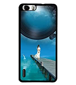 Fuson 2D Printed Girly Designer back case cover for Huawei Honor 6 - D4170