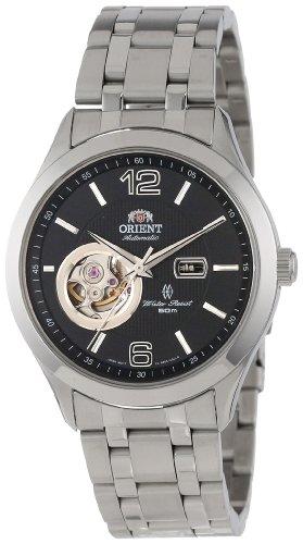 Orient Men's CDB05001B 50m Semi Skeleton 21 Jewels Black Watch