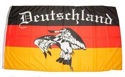 Fahne / Flagge Deutschland Fußball 5 NEU 90