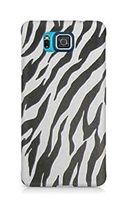 AMEZ Zebra Back Cover For Samsung Galaxy Alpha