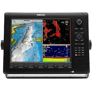 Simrad NSE12 12-Inch Color LCD Multifunction Display with Pre-Loaded US Charts, GPS Antenna, Echosounder, Radar Kits