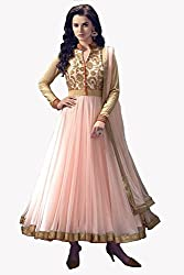 Shree Ganesh Women's Net Unstitched Dress Materials [D91]