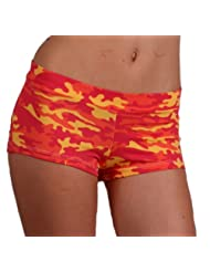 Margarita Orange Camo Shorts