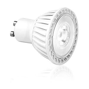 Aurora 6W GU10 LED Light Bulbs Warm White - Perfect Size Retrofit by Aurora
