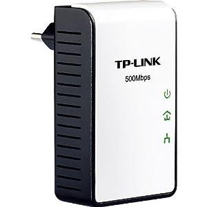TP-Link Mini TL-PA411 Powerline-Netzwerkadapter (500Mbps, Ultra-Kompaktgehäuse, Fast Ethernet)