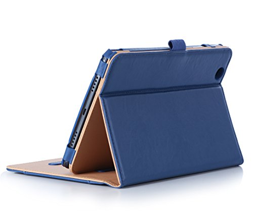 LG G Pad X 8.0 / G Pad III 8.0 Case, ProCase Standing Cover Folio Case Smart Cover for LG G Pad X 8.0 (T-Mobile V521) and G Pad III 8.0 V525 8-Inch Tablet -Navy (Lg G Pad Protective Case compare prices)
