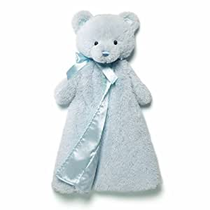 Gund Baby Gund My 1st Teddy Huggybuddy Blanket, Blue (Discontinued by Manufacturer)