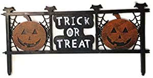 Trick or Treat Halloween Fence Yard Decor from Momentum Brands