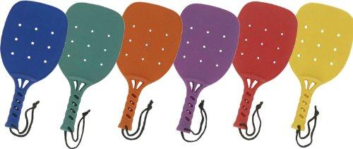 Champion Sports 15-Inch Paddleball Paddle Set of 6