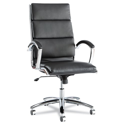 High-Back Chair in Black