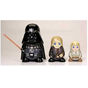 Star Wars Chubbies Series 1 Darth Vader Nesting Dolls by Hot Toys