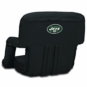 NFL York Jets Portable Ventura Reclining Seat from Picnic Time