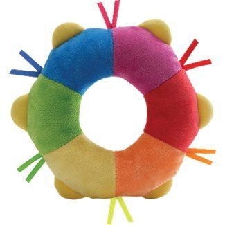 Gund Color Fun Plush Tambourine 4034103