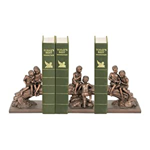 Sterling Home Secret Tree Bookend Trio, 7-Inch Tall