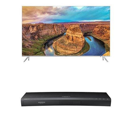 Samsung UN65KS8000 65-Inch TV with UBD-K8500 4K Blu-ray Player