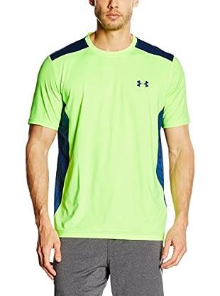 Under Armour Camiseta Técnica Fitne (Verde / Azul Marino)