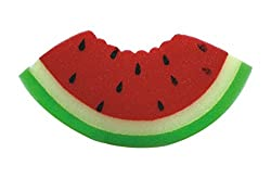 PANACHE Bath Sponge Watermelon, Kids Bathing Accessories, Baby Body Care,Loofah, Baby Products, Baby Care, Bathing, Wash Gloves, Bath Toys.