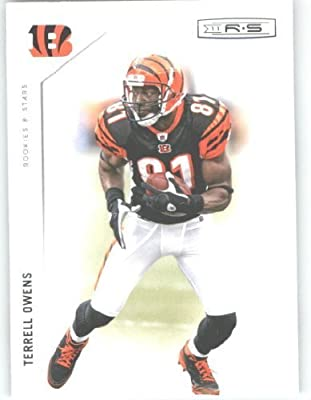 2011 Panini Rookies & Stars Football Card #33 Terrell Owens - Cincinnati Bengals - NFL Trading Card