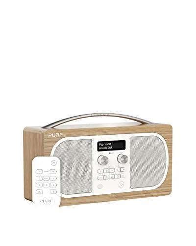 Pure Radio Evoke D6 Stereo Bt/Rc Marrón