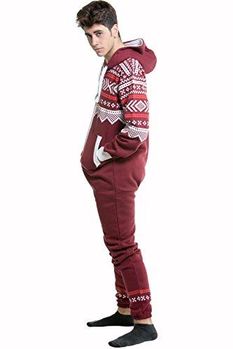 SkylineWears Men's Fashion Onesie Jumpsuit one Piece non Footed ...