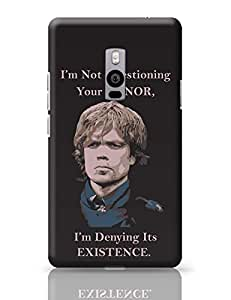 PosterGuy OnePlus Two Case Cover - Tyrion Lannister - Game of Thrones | Designed by: Parakh Arora