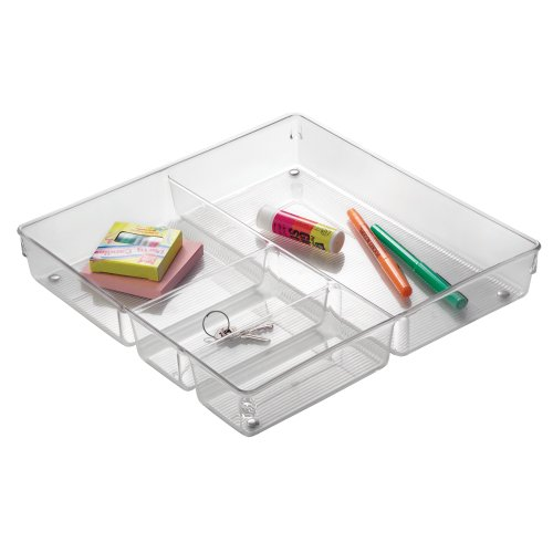 InterDesign 56530EU Linus Grand Organiseur de Tiroir Transparent