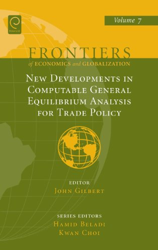 New Developments In Computable General Equilibrium Analysis For Trade Policy (Frontiers Of Economics And Globalization)