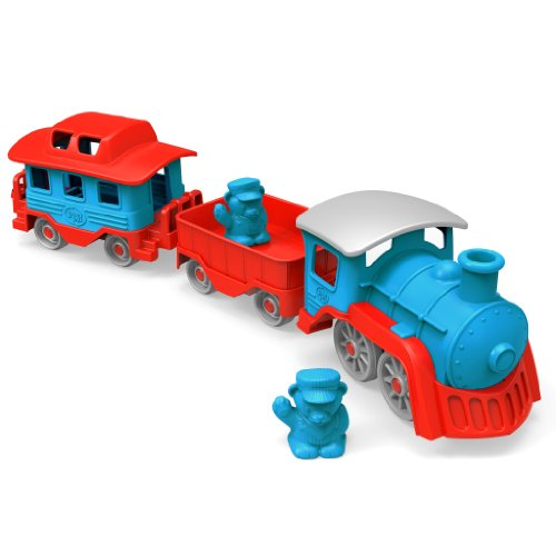 Green Toys Train, Blue/Red front-961112