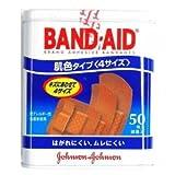 ジョンソン・エンド・ジョンソン バンドエイド 肌色タイプ 4サイズ 640-7006 50枚入