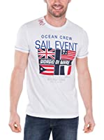 Giorgio Di Mare Camiseta Manga Corta (Blanco)