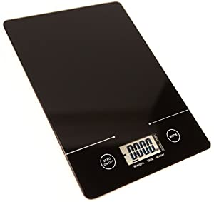 Cuissential - Kuissential SlickScale: Slim Digital Kitchen Food Scale (Precision... by Cuissential - Kuissential