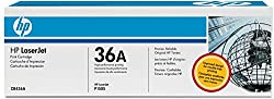 HP 36A CB436AF LaserJet Toner Cartridge (Black, Pack of 2)