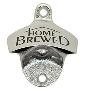 """Mountable Bottle Opener """"Home Brewed"""""""